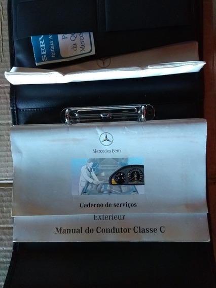 Manual Proprietario Mercedes Serie C 1995 96 97 98 99 00