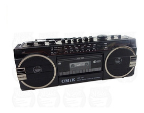 Radio Gravador Toca Fitas K7 Retro Anos 80 Novo Usb E Cartão