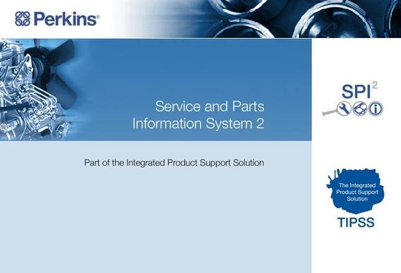 Catálogo Eletrônico De Peças E Serviços Perkins Spi2 2018a