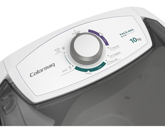 Lavador Semiautomática 10kg 127v Colormaq Branco Fb