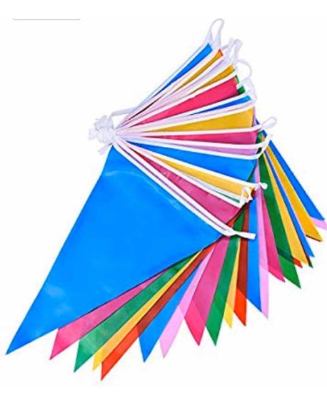 250 Metros Banderines De Colores