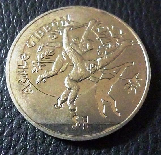 Sierra Leona Moneda 1 Dolar 2011 Unc Monos