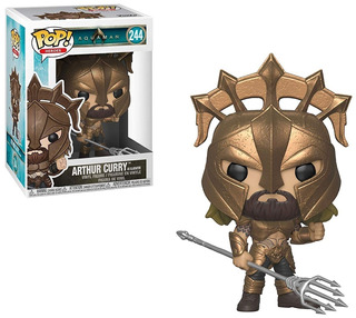 Funko Pop! Arthur Curry As Gladiator 244 Aquaman Muñeco