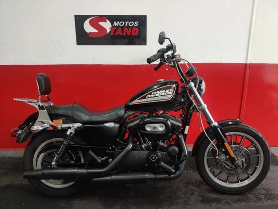 Harley Davidson Sportster Xl 883 R 883r 2010 Preta Preto