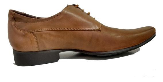 Remate Zapatos Santini / Vestir / Cafe / Hombre