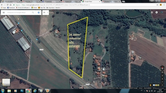 Área De 28.200m² Para Industria Não Poluente. - Lt002211