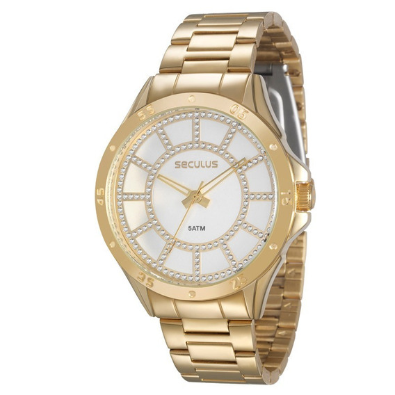 Relógio Seculus Feminino Analógico 28454lpsvds1