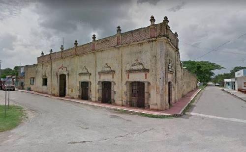 Casona En Venta, Yaxcaba, Con Distribución Tipo Hacienda Con 2 Patios, Terreno De 1640m2