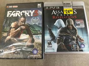 Combo Pague 1 Leve 2 Far Cry 3 Pc Lacrado + Assassins Creed