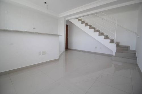Imagem 1 de 23 de Cobertura Duplex À Venda, 2 Quartos, 2 Vagas, Maria Helena - Belo Horizonte/mg - 1475