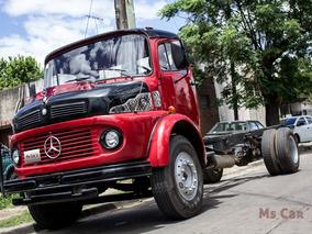 Mercedes Benz 1114 Motor 1620 Diesel 1988 Rojo