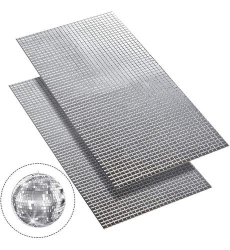 Mosaicos Espejo 0.5 X 0.5 Cms 3600 Piezas Adhesivos Arte