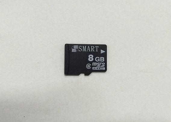 Cartão De Memória 8gb Microsd Novo