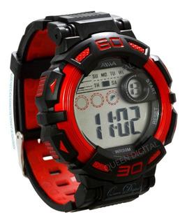 Reloj Deportivo Alarma Cronometro Luz Sumergible 50mt Aiwa