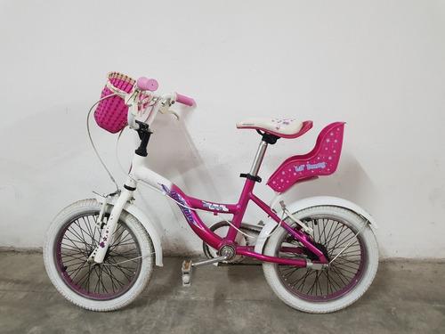 Bicicleta Raleigh Rodado 16 Nena Usada