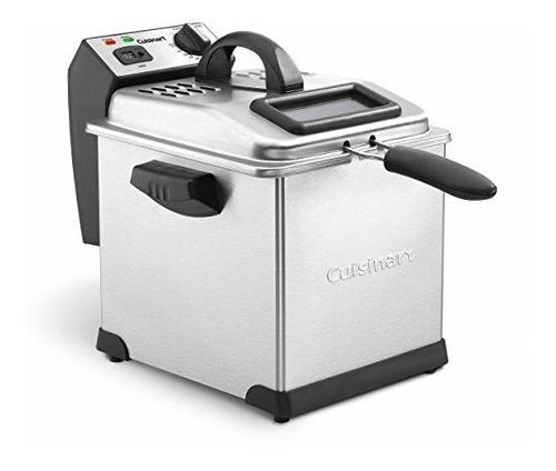 Cuisinart Cdf-170 Freidora Imnersion 3.25 Litros 1800 Watts