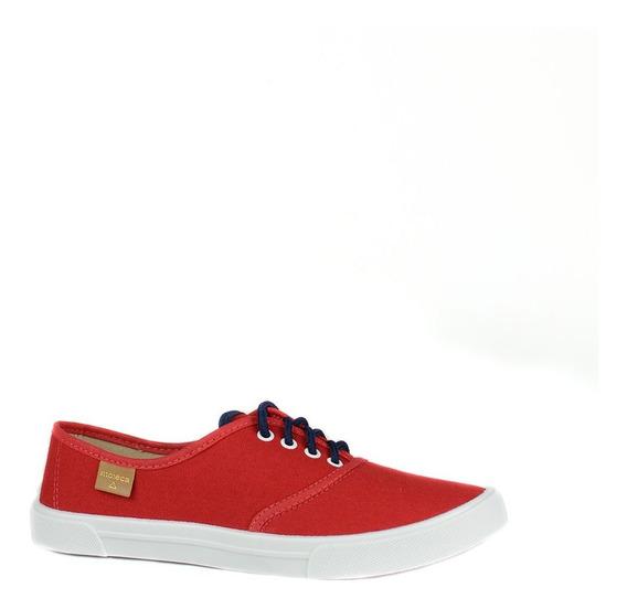 Tênis Casual Moleca Vermelho