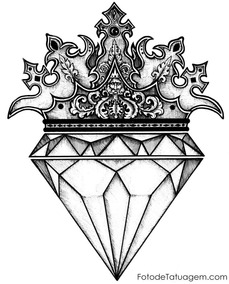 Quadro De Diamante Escultura