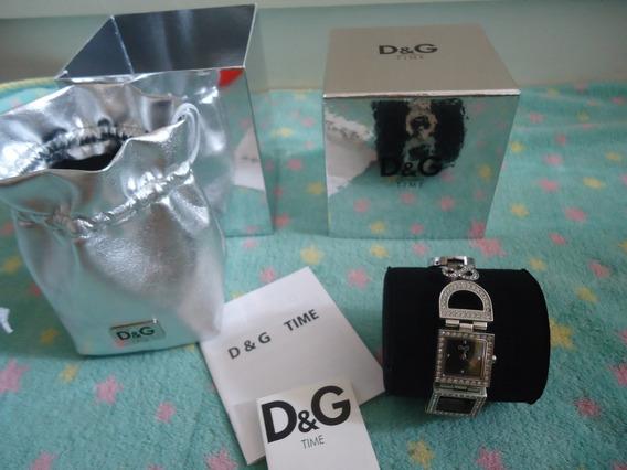 Relógio Dolce&gabbana D&g Com Strass Original Na Caixa
