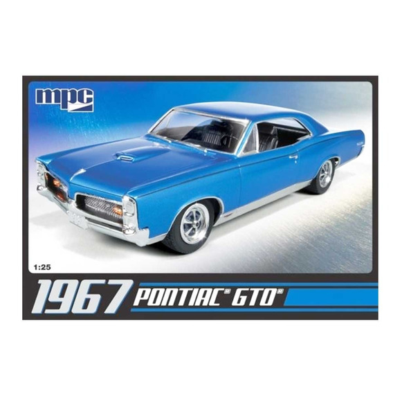 Pontiac Gto 1967 Plastimodelo 1/25 Kit 1:25 Mpc Mpc710l/12