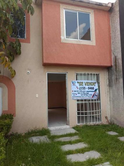 Casa De 2 Recamaras En Las Americas, Ecatepec.