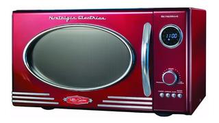 Microondas Nostalgia Electrics Rmo400red Retro Series .9 Cf