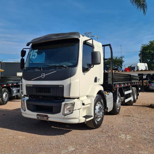 Caminhão Bitruck Vm330 8x2 Grade Baixa Porta Container 2015