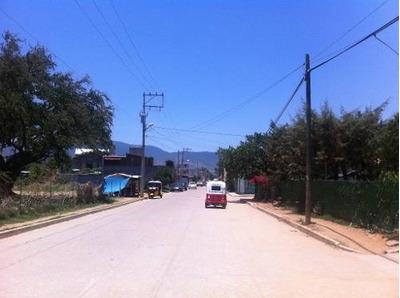 Renta De Terreno En Santa Cruz Xoxocotlan, Oaxaca.