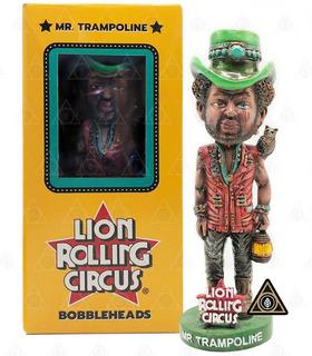 Muñeco Lion Rolling Circus Mr. Trampoline El Alquimista