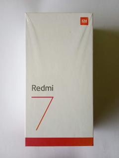 Xiaomi Redmi 7 + Vidrio Templado + Forro