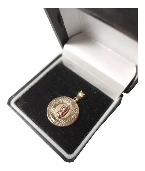 Medalla Oro Puro Virgencita De Guadalupe M3