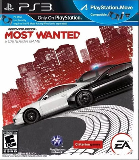 Need For Speed Most Wanted Ps3 Original -play Perú