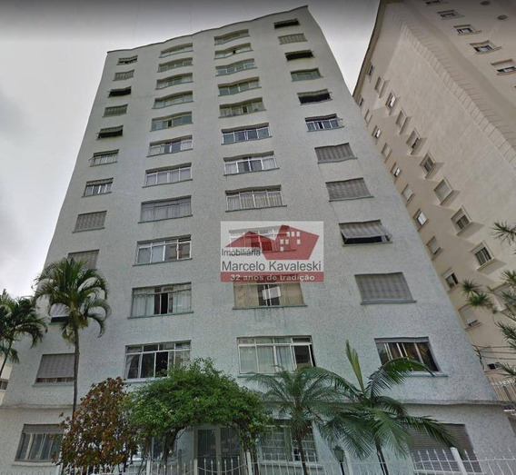 Apartamento Com 3 Dormitórios Para Alugar, 170 M² Por R$ 3.000/mês - Bela Vista - São Paulo/sp - Ap8478