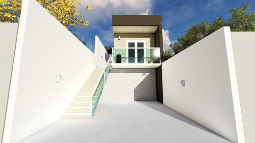 Imagem 1 de 11 de Casa De 2 Dormitórios Em São Luiz (polvilho) - Cajamar - Sp