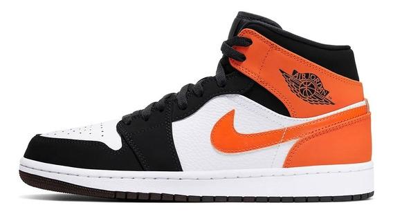 Zapatillas Nike Hombre Jordan 1 Mid 554724058 Env Gratis Gd