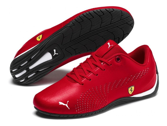 Tenis Puma Ferrari Sf Drift Cat 5 Ultra Ii Rojo 306461 03