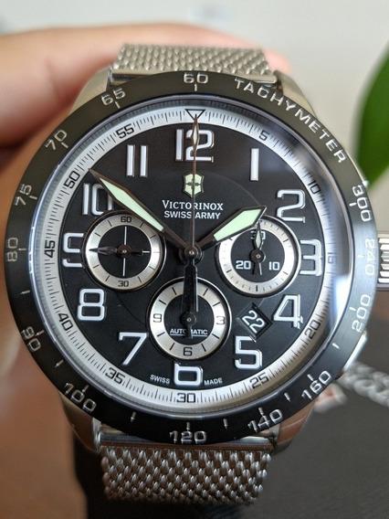 Relógio Victorinox Airboss Mach 6 Automatico Suico 241447