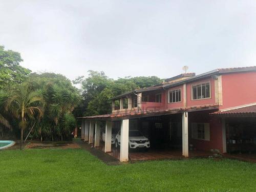 Imagem 1 de 28 de Chácara Com 3 Dormitórios À Venda, 1300 M² Por R$ 600.000,00 - Bananal - Campinas/sp - Ch0428