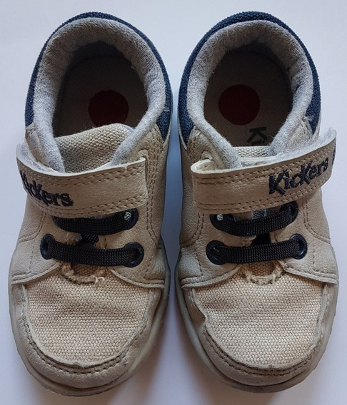 Zapatillas Kickers/grimoldi Niño Beige Kzg 580407 Juano