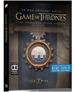 Blu-ray Game Of Thrones Season 3 Temporada 3 Steelbook Iman