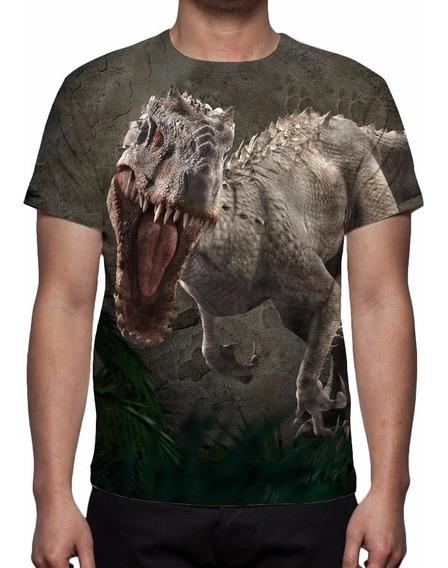 Camisa, Camiseta Filme Jurassic World - Indominus Rex