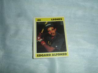 Barajita De Beisbol Venezolano 1987 Edgard Alfonzo