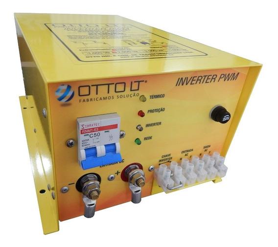 Inversor Pwm2000 12v 24v 48v Marinizado Náutica Solar