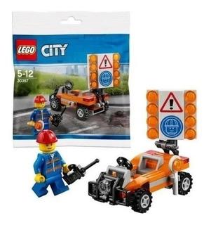 Lego City 30357 Lego City Trabajo En Equipo 58pzas + Libro 1