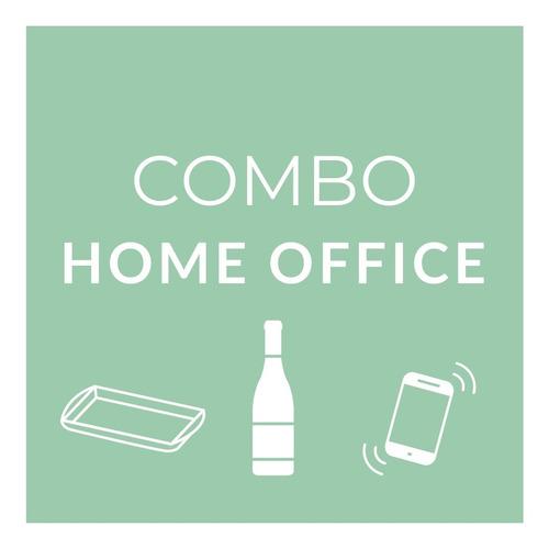 Imagen 1 de 7 de Combo Home Office Trabajo Escritorio Soporte Celular Notbook