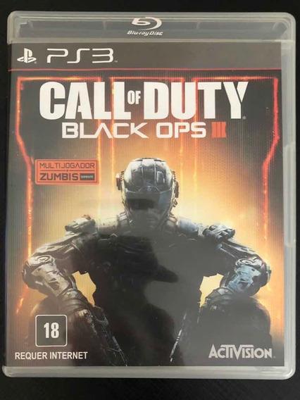 Jogo Ps3 Call Of Duty Black Ops Iii 3 Mídia Física Envio Já!
