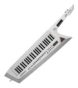 Guitarra Teclado Keytar Roland Sintetizador Ax-edge-w Branco