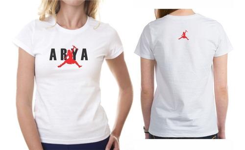 falta mecanógrafo píldora  Camiseta Playera Mujer Series Game Of Thrones Arya Jordan | Mercado Libre