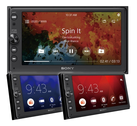 Estereo Dvd Sony Xav Ax100 Bluetooth Pant Touch 6.4 55wx4 P