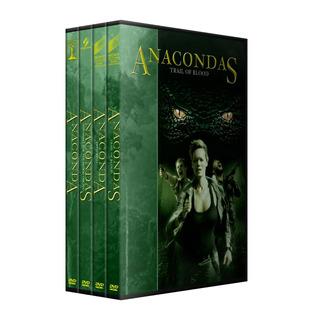 Anaconda Saga Completa Dvd Colección Latino 4 Peliculas